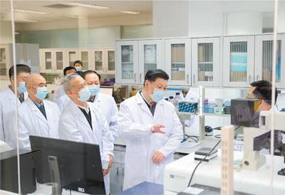 习近平:为打赢疫情防控阻击战提供科技支撑
