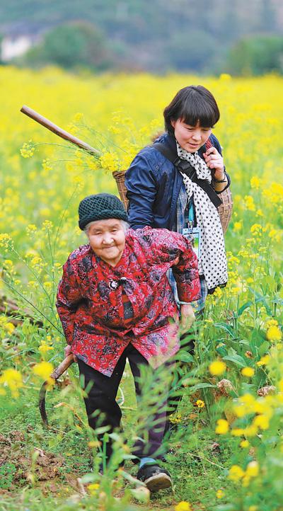 扶贫印记:走进村民心里
