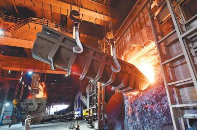 鋼鐵市場逐步回暖
