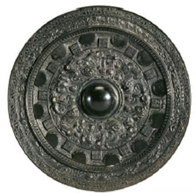 上海博物馆藏东汉永康元年神人神兽画像镜