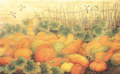 幼儿园秋天风景简笔画