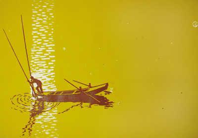 随着水 向着美(名家在线)—莫测与他的版画创作 - 人在上海  - 中国日报Chinadaily