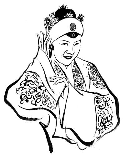 文艺 人物素描    京剧名角袁慧琴的经历与她同辈的京剧人没什么两样