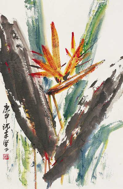林风眠与沈柔坚的友谊与创造 - chenjianguo87 - chenjianguo87 的博客