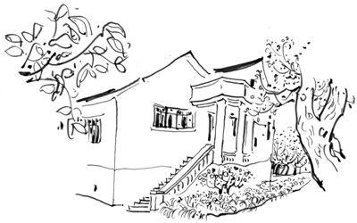 探访林风眠故居:长满庄稼的花园