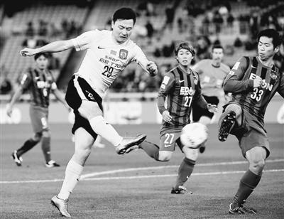 世界俱乐部杯广州恒大队获得第四名