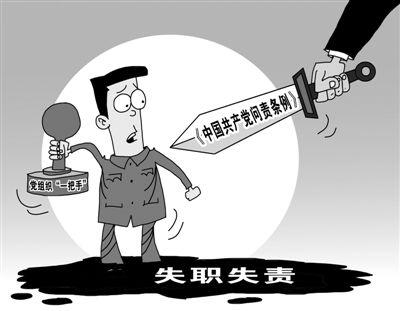 《中国共产党问责条例》实施月余,各地加强学习并研究制定具体实施办法——  问责,把从严治党推向新高度(前沿观察)