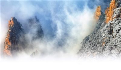 雪中中国万松奇(美丽黄山冬小学)之旅用法关联词的