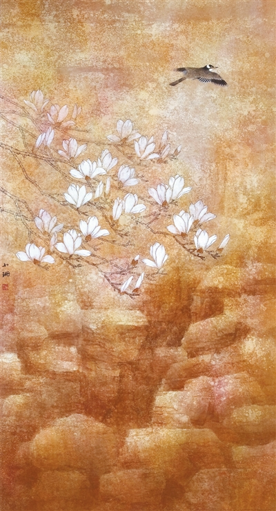 空谷清音(中国画) 郑小珊 《 人民日报 》( 2017年04月12日   24 版) - weicuibai65 - 雕龙绣凤
