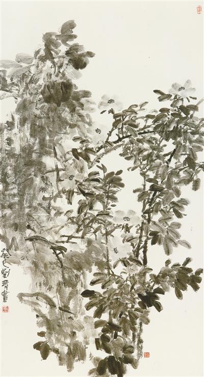 微雨清凉(中国画) 刘 瑗 《 人民日报 》( 2017年06月07日   24 版) - weicuibai65 - 雕龙绣凤