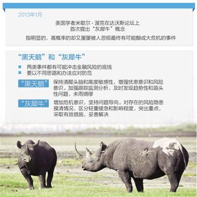 灰犀牛事件有哪些图片