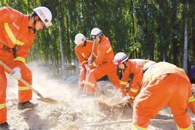 新疆精河震后第四天 全力进入灾后重建