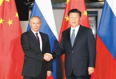 九月三日,国家主席习近平在厦门会见来华出席金砖国家领导人第九次图片