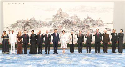 兴市场国家与发展中国家对话会受邀国领导人及配偶 嘉宾图片