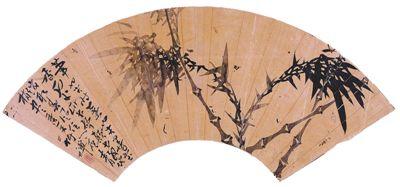 竹禅画竹(艺海钩沉) 朱万章 《 人民日报 》( 2017年09月10日   12 版)    墨竹图扇面(中国画)   竹 禅 广东省博物馆藏       有君子之象征的竹,为历代画家所青睐。其中,竹禅是晚清时期,活跃于海上画坛的画竹名家。他本为四川梁山人,俗姓王,后因避难出家。其艺术与佛教活动大多在上海、江苏一带,擅绘山水、人物及竹石,尤以水墨竹石见长且为人称道。    关于竹禅的艺术活动与生平事迹,典籍中所载并不十分清晰,虽然已有不少学者撰文研究,但多限于其宗教活动和琴艺,对其绘画则鲜有所及。就笔者 - weicuibai65 - 雕龙绣凤