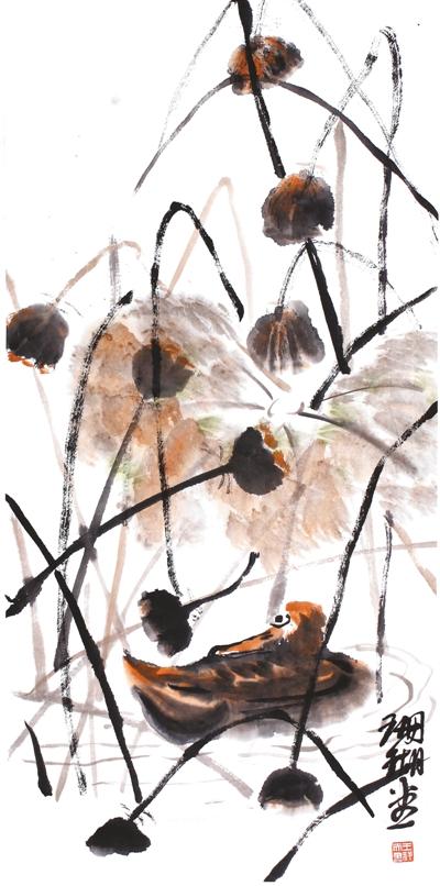 秋韵图(中国画) - weicuibai65 - 雕龙绣凤