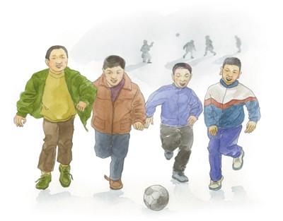 我的足球故事(大家致童年)丹丹胖人服饰