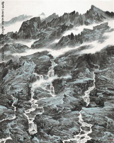 吴建潮正是一位喜欢思考的艺术家  痴迷于作画、醉心于为文