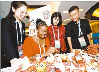 展示志愿风采 讲述中国故事