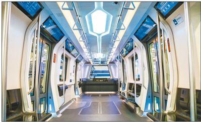 新一代地铁亮相长春