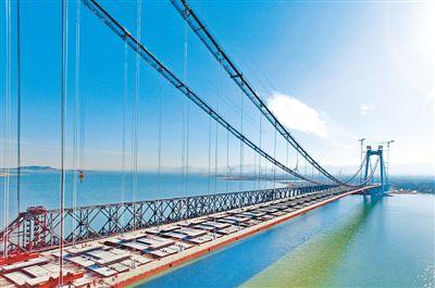 河北省懷來縣官廳水庫公路大橋主橋成功合龍