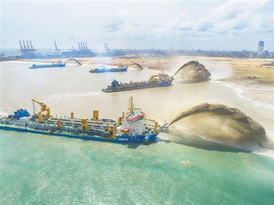 """""""科伦坡港口城项目创造了技术奇迹"""""""