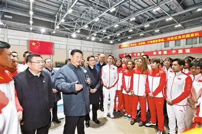 习近平春节前夕在北京看望慰问基层干部群众向广大干部群众致以美好的新春祝福