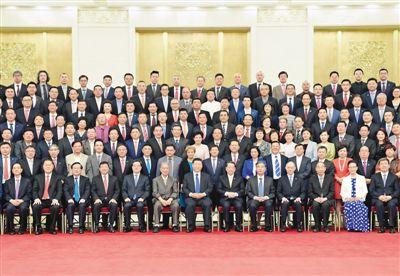 习近平会见第九届世界华侨华人社团联谊大会和中华海外联谊会五届一次理事大会代表