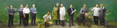 存正气 弘美德——新中国英模题材美术