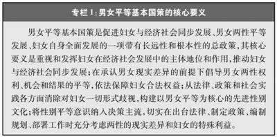 新中国70年妇女事业发展与进步白皮书发表