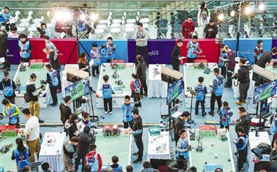 2019全球青少年机器人挑战赛总决赛在京举行