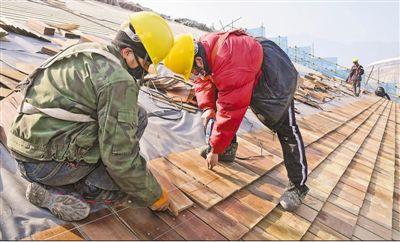按计划有序复工 冬奥工程,任务不减标准不降