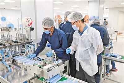 口罩生产线助力埃及抗击疫情