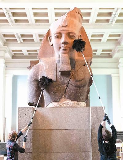 大英博物馆重新开放
