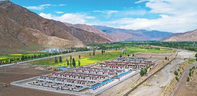 这五年,西藏居民日子越过越美