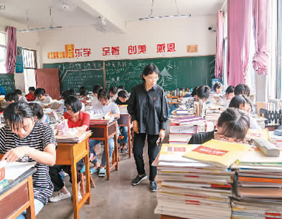 女高校长张桂梅