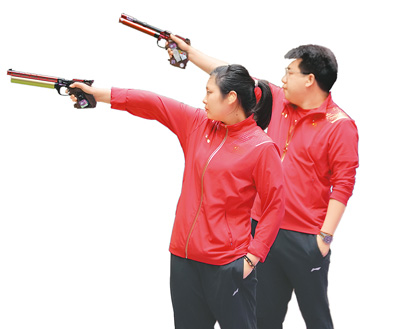 再揽三金 中国组合闪耀赛场