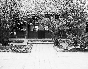 名人故居:叶圣陶故居 海棠依旧