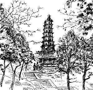 香山琉璃塔
