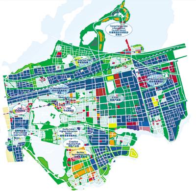 濮阳工业园区规划图