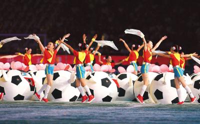 女足世界杯在沪开幕(中国之窗)