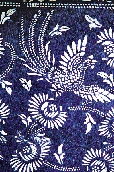 蓝印花布图案; 蓝印花布的简单图案