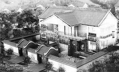 農村建房140平米帶堂屋兩層平面設計圖