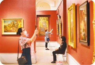 普希金造型艺术 博物馆重新开放
