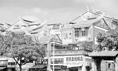 泉州华侨民居中式建筑群图片