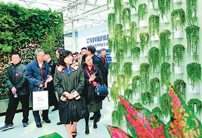 北京农业嘉年华主打科技牌