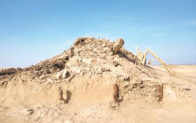 罗布泊发现汉晋古城
