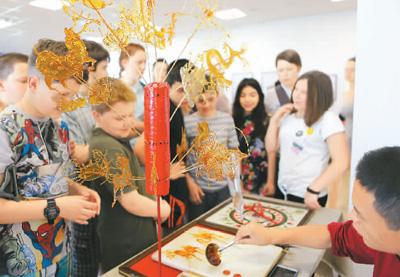 中国非遗文化周白俄罗斯开幕