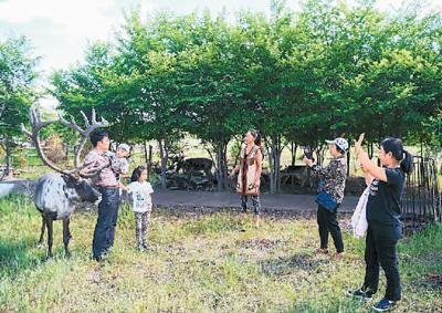 """探访中国""""最后的狩猎部落""""敖鲁古雅鄂温克民族乡"""