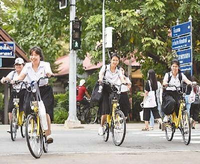 共享单车进入泰国大学
